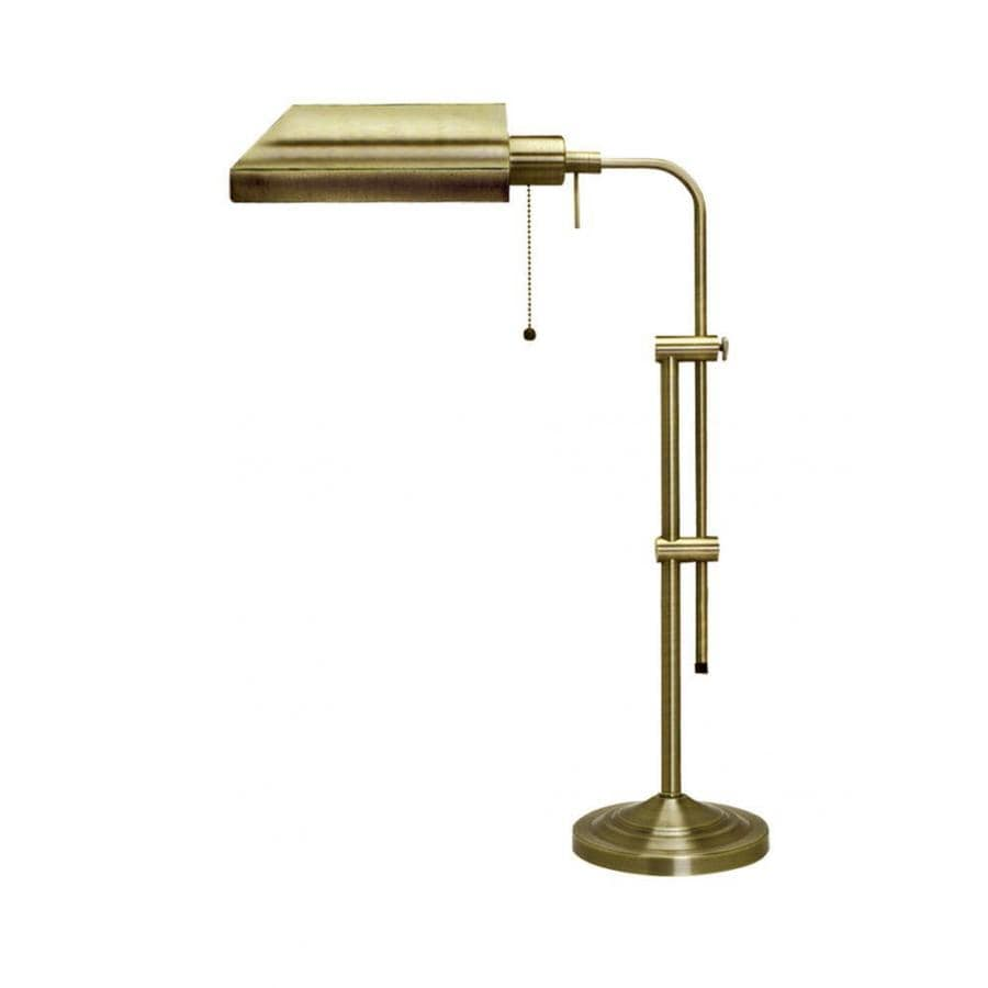 Axis 22-in 3-Way Antique Bronze Indoor Table Lamp with Metal Shade