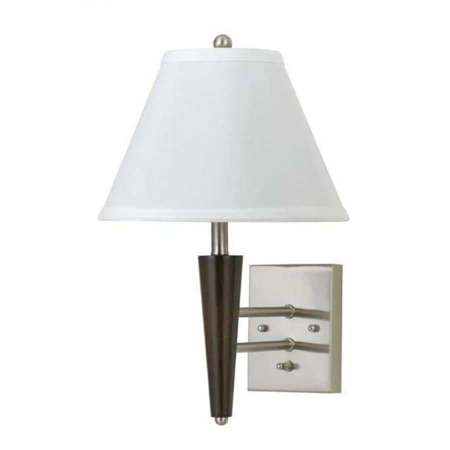 Axis 8-in W 1-Light Brushed Steel Arm Wall Sconce