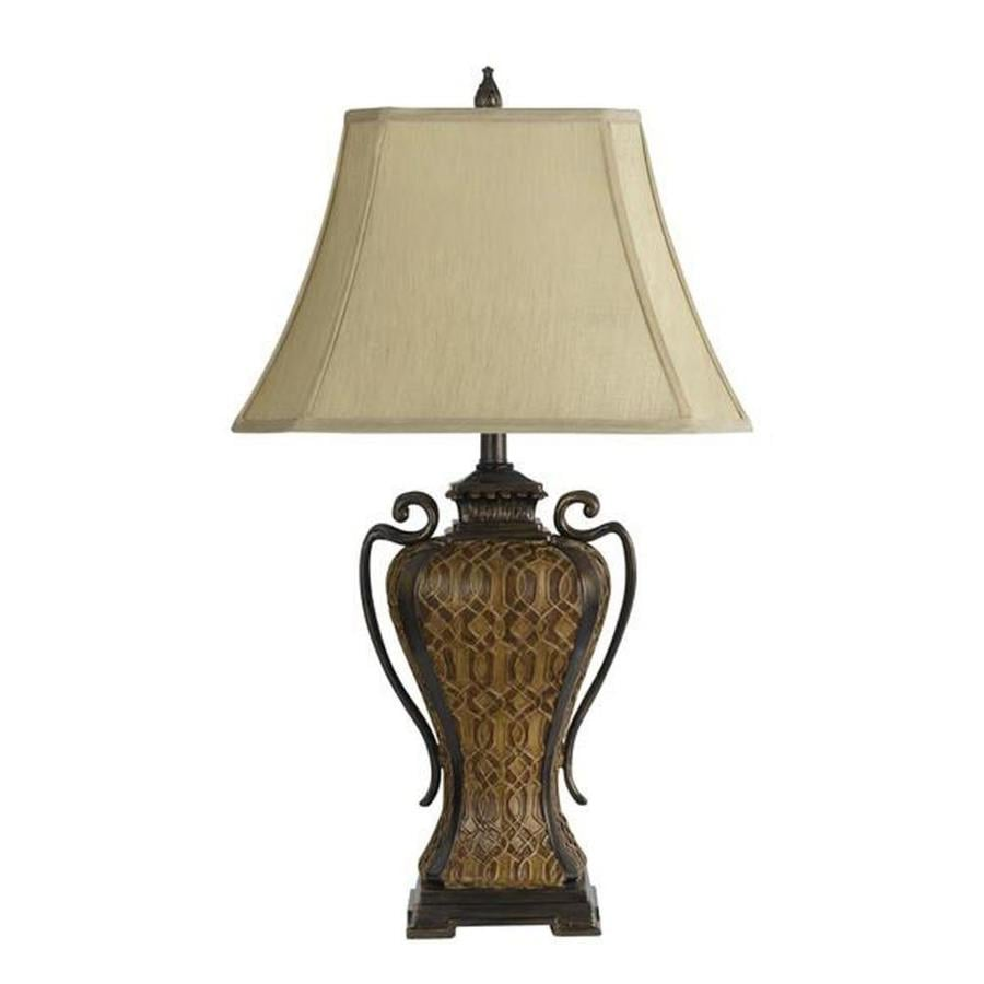 Axis 30-in 3-Way Smithy Indoor Table Lamp with Fabric Shade