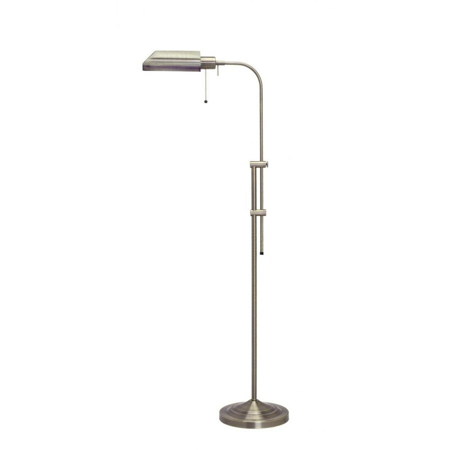 Axis 62-in 3-Way Switch Antique Bronze Torchiere Indoor Floor Lamp with Metal Shade