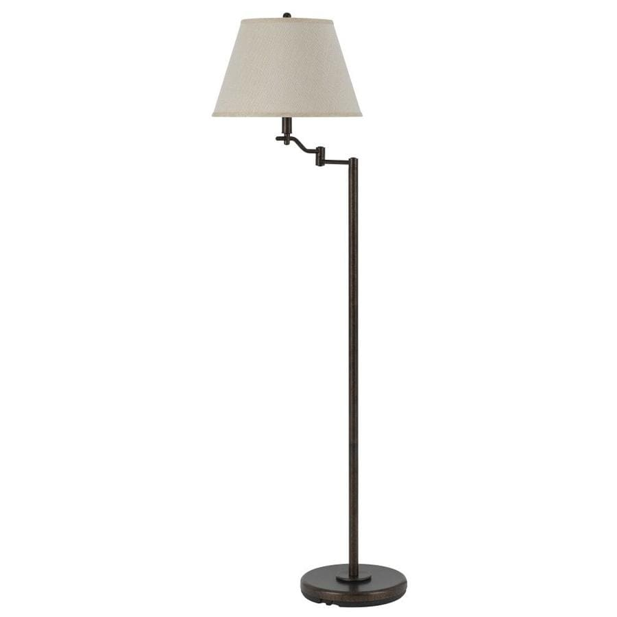Shop Axis 60 In Rust 3 Way Torchiere Floor Lamp With