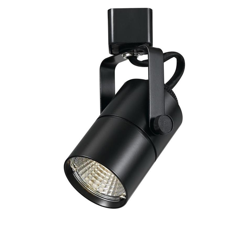 Cal Lighting Track Head 1 Light Dimmable Black Roundback Head S Track Lighting Head In The Track Lighting Heads Department At Lowes Com