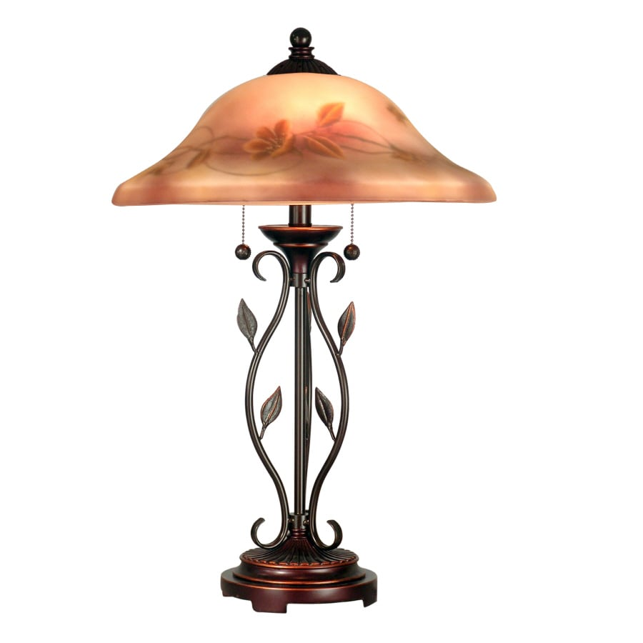 Portfolio 26-in Transitional Indoor Table Lamp with Shade
