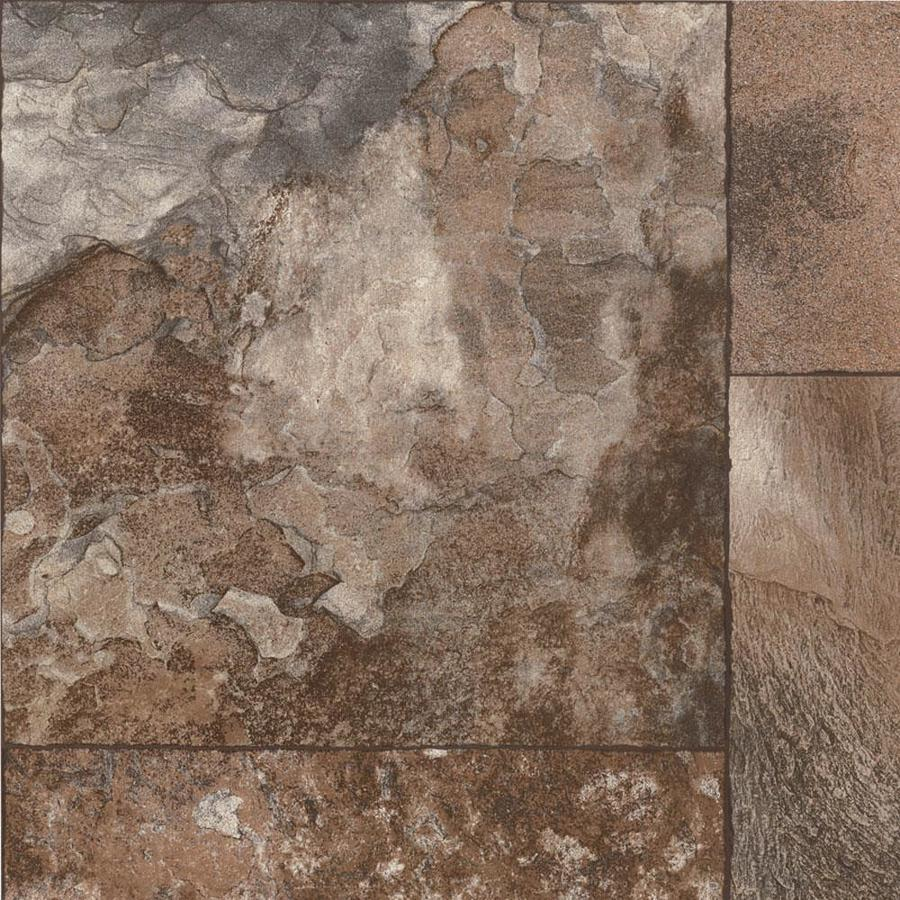 Congoleum Grand Canyon 12-ft W Safari Geometric Low-Gloss Finish Sheet Vinyl