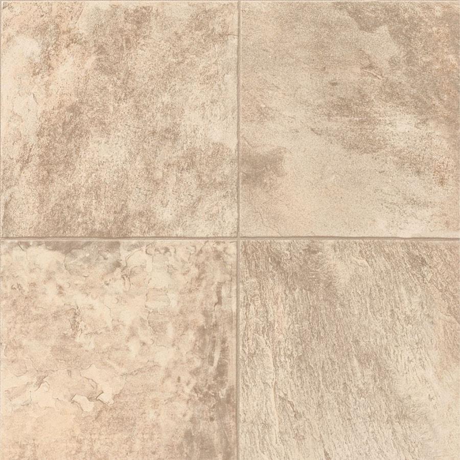Congoleum 12-ft W Baja Dunes Tile Low-Gloss Finish Sheet Vinyl