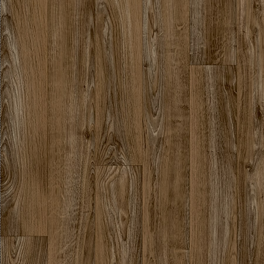 Congoleum 12-ft W Willow Wood Low-Gloss Finish Sheet Vinyl