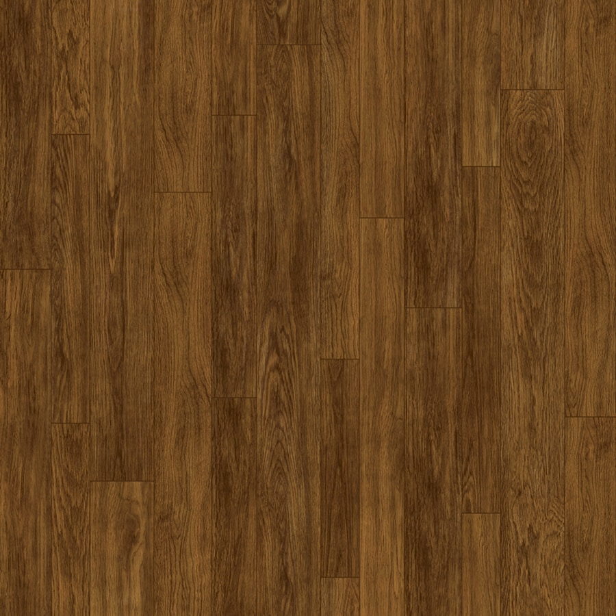 Congoleum ArmorCore Oak Run 12-ft W x Cut-to-Length Marsh Brown Wood-Look Low-Gloss Finish Sheet Vinyl