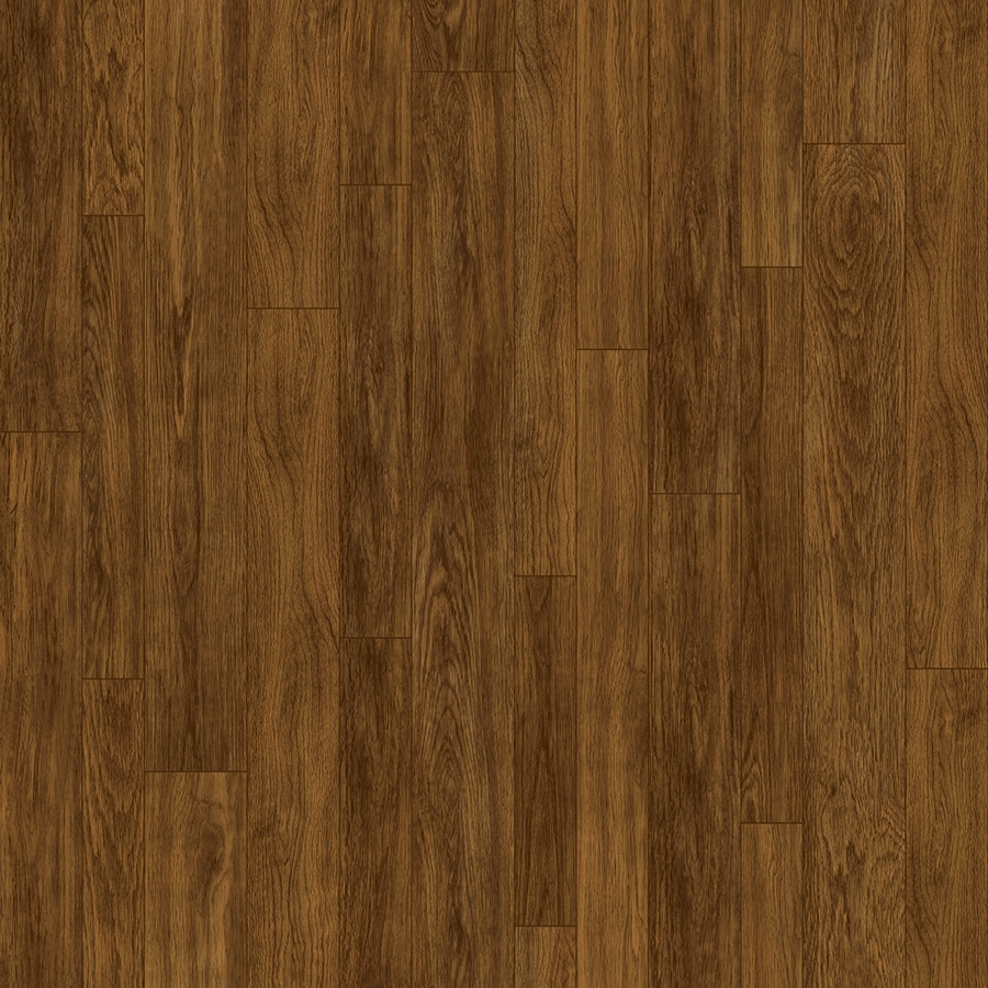 Congoleum ArmorCore 6-ft W x Cut-to-Length Marsh Brown Wood-Look Low-Gloss Finish Sheet Vinyl