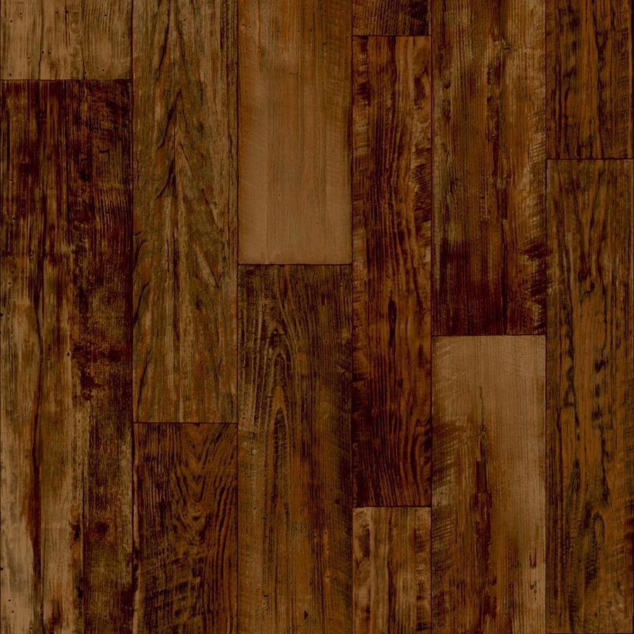 Congoleum ArmorCore Ur 12-ft W Wren Wood-Look Low-Gloss Finish Sheet Vinyl