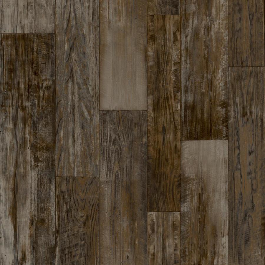 Congoleum ArmorCore Pro Ur 12-ft W Steel Wool Wood-Look Low-Gloss Finish Sheet Vinyl