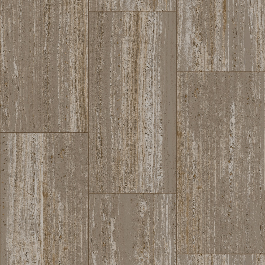 Linoleum Flooring Lowes >> Shop Congoleum Traverstone 12-ft W x Cut-to-Length Ocean ...