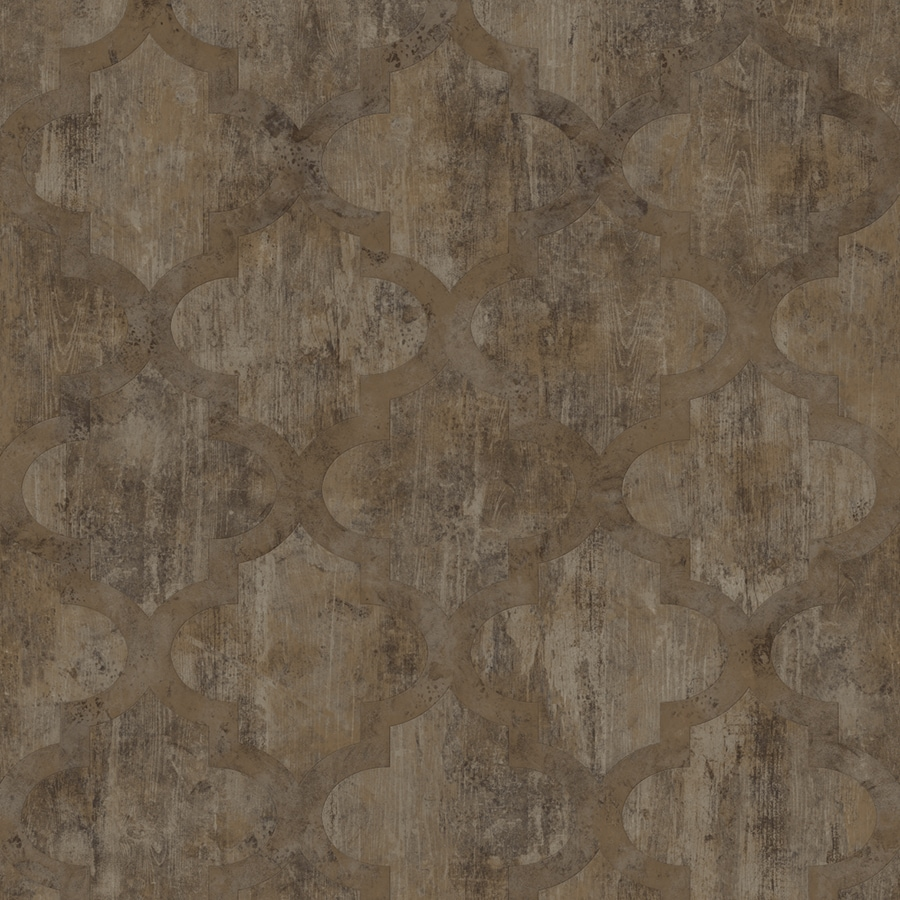 Congoleum Mystic 12-ft W x Cut-to-Length Himalayan Trek Geometric Low-Gloss Finish Sheet Vinyl