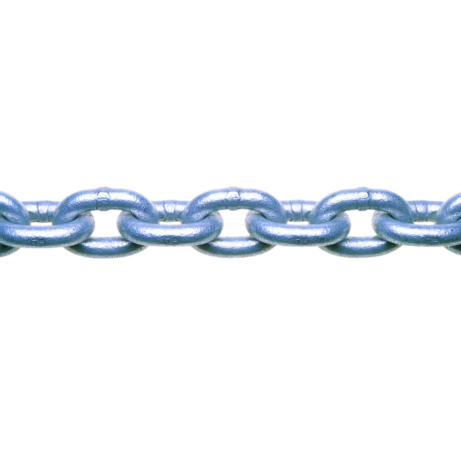 Campbell Commercial 1-ft 3/16-in Welded Galvanized Steel Chain (By-the-Foot)
