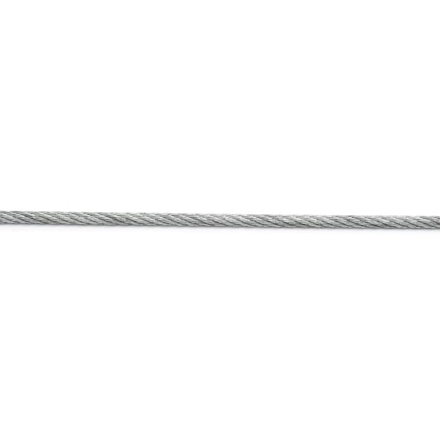 Campbell Commercial 1-ft 3/16-in Weldless Stainless Steel Cable (By-The-Foot)