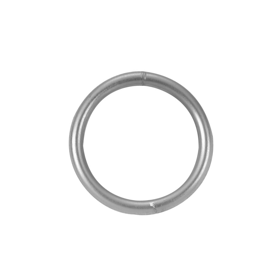 Covert 1/4-in x 2-in Welded Ring Zinc Plated
