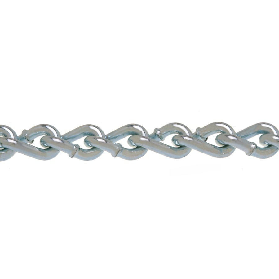 Campbell Commercial 1-ft 2/0 Welded Zinc Plated Steel Chain (By-the-Foot)