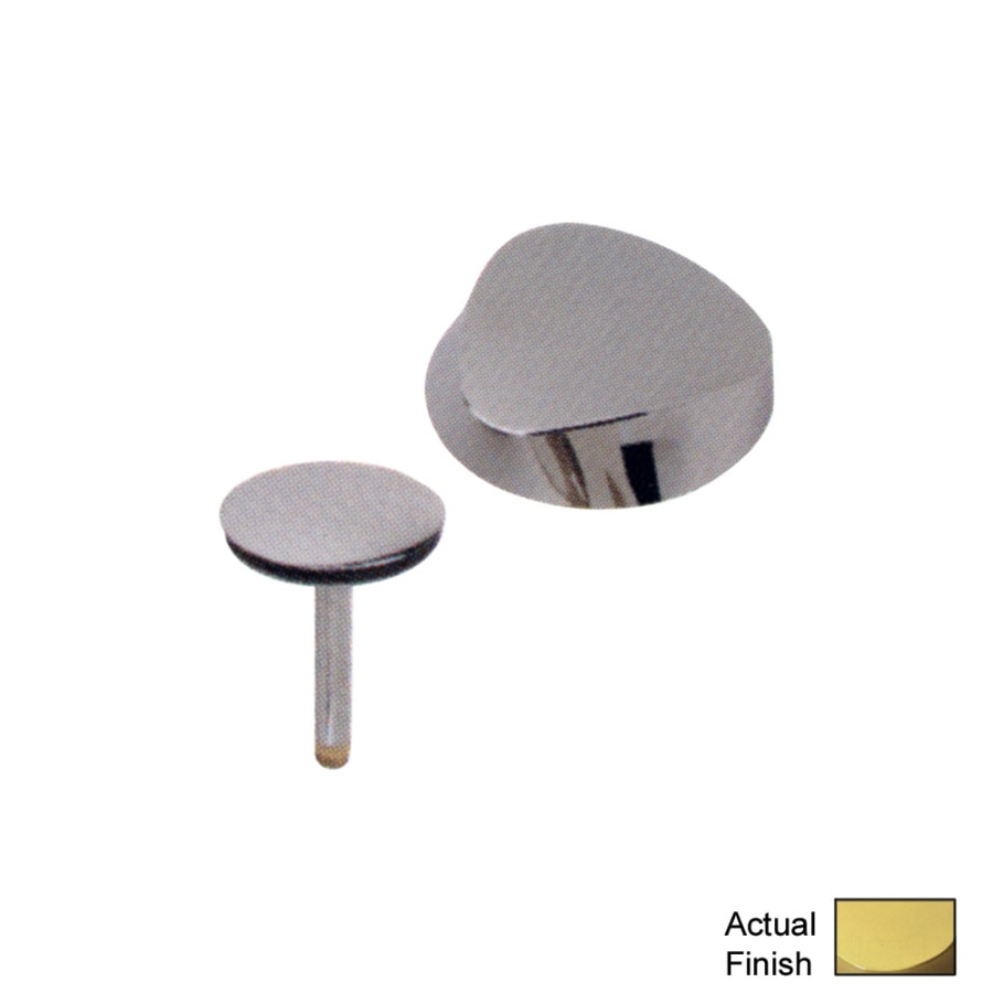 Geberit Polished Brass Metal Trim Kit