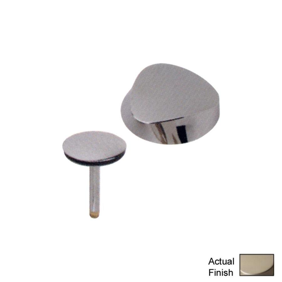 Shop Geberit Brushed Nickel Metal Trim Kit At