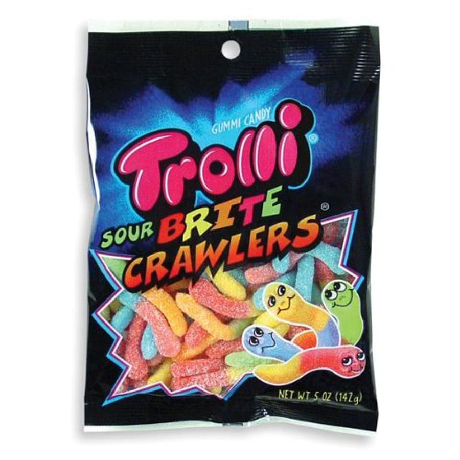 Trolli 5-oz Trolli Sour Brite Crawlers Gummi Snacks