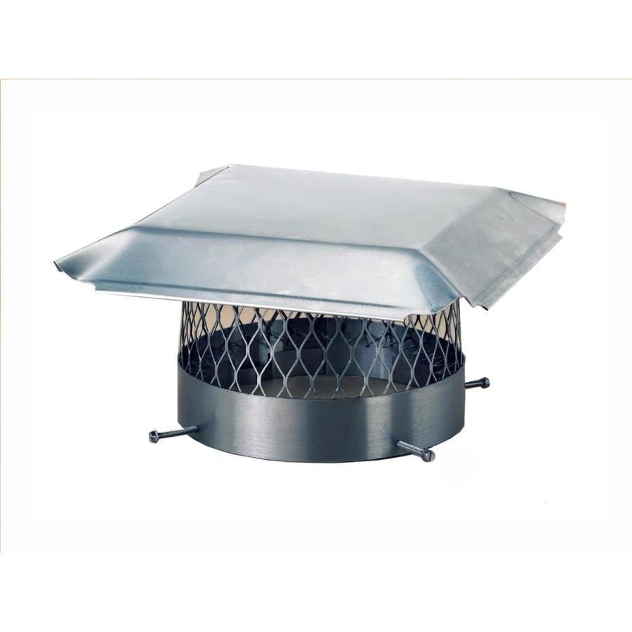 Shelter 12-in W x 12-in L Stainless Steel Square Chimney Cap