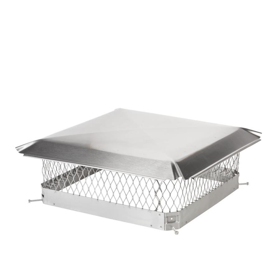 Shelter 20-in W x 20-in L Stainless Steel Square Chimney Cap