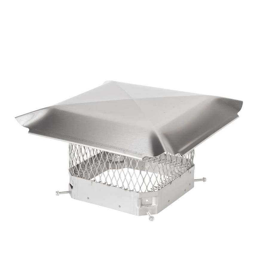 Hy C 9 In W X 9 In L Stainless Steel Square Chimney Cap At