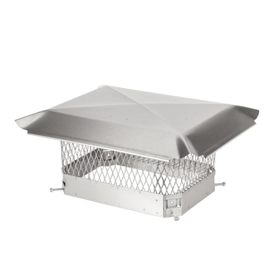 Shelter 9-in W x 13-in L Stainless Steel Rectangular Chimney Cap