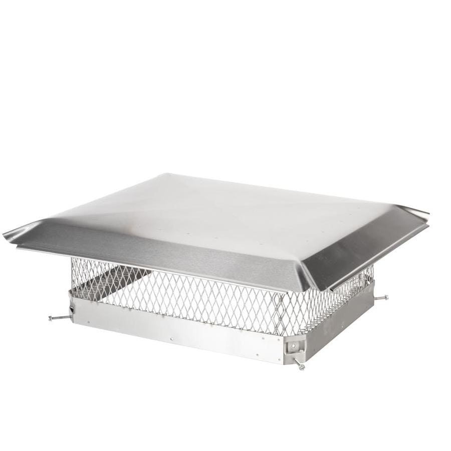 Shelter 17-in W x 21-in L Stainless Steel Rectangular Chimney Cap