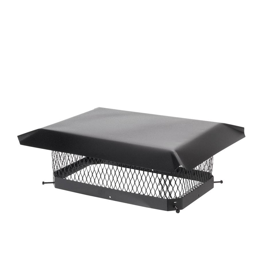 Shop Shelter 10 In W X 17 In L Black Galvanized Steel