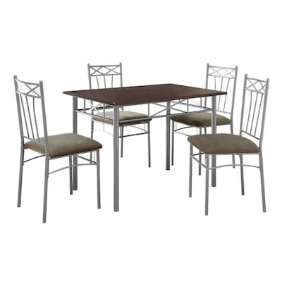 Cappuccino Dining Set With Rectangular Dining Table