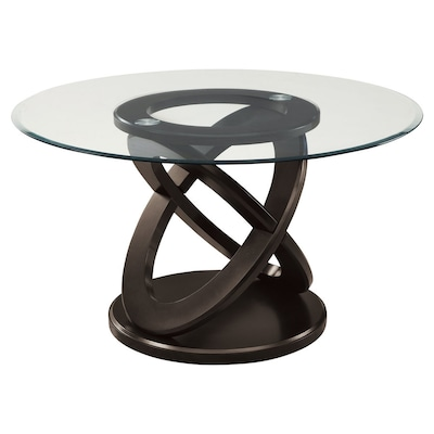 Tempered Gl Round Dining Table