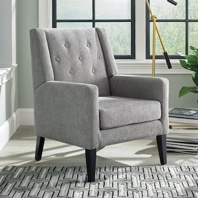 Magnificent Scott Living Accents Mission Shaker Beige Accent Chair At Andrewgaddart Wooden Chair Designs For Living Room Andrewgaddartcom