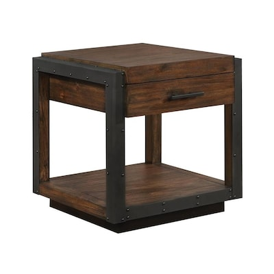 Phenomenal Workshop Vintage Bourbon Wood Veneer End Table Bralicious Painted Fabric Chair Ideas Braliciousco