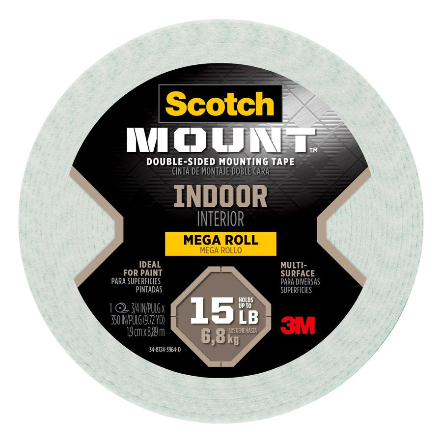 Scotch 0.75 In X 29.17 Two Sided Tape