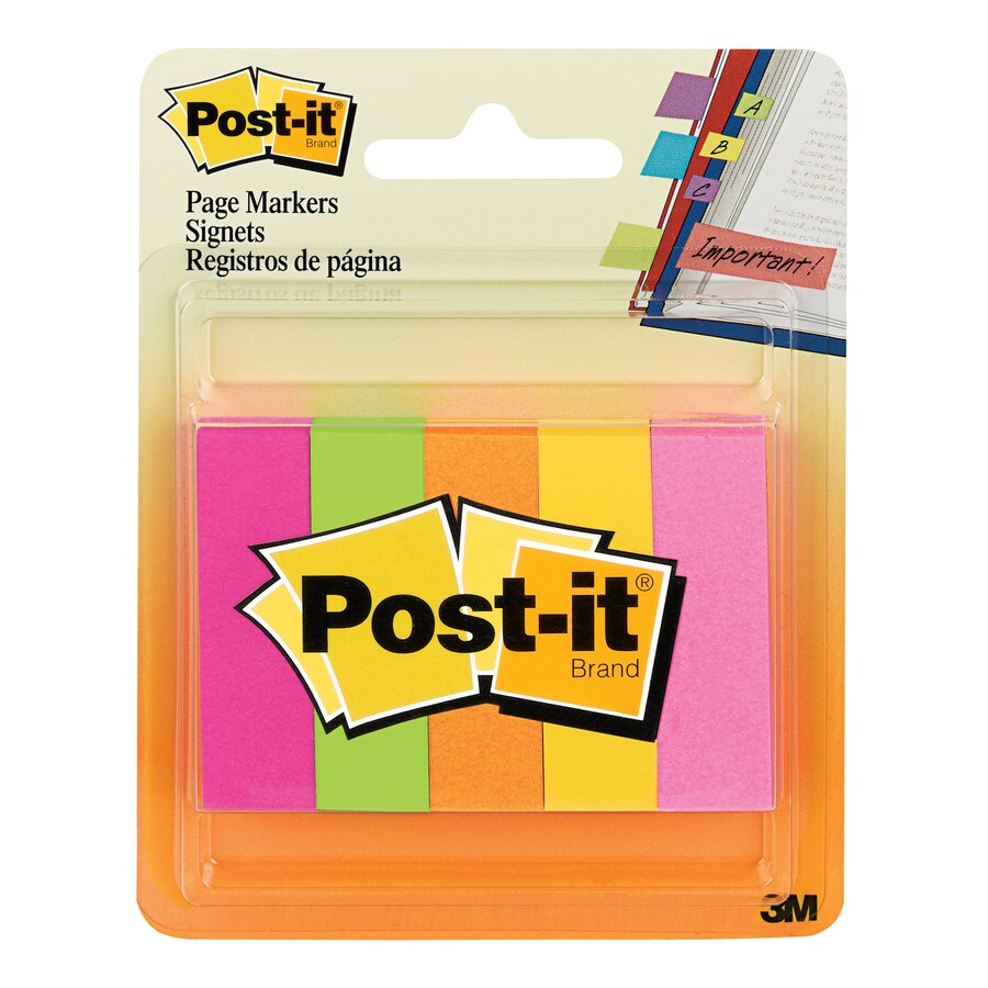 Post-it Rainbow Page Markers