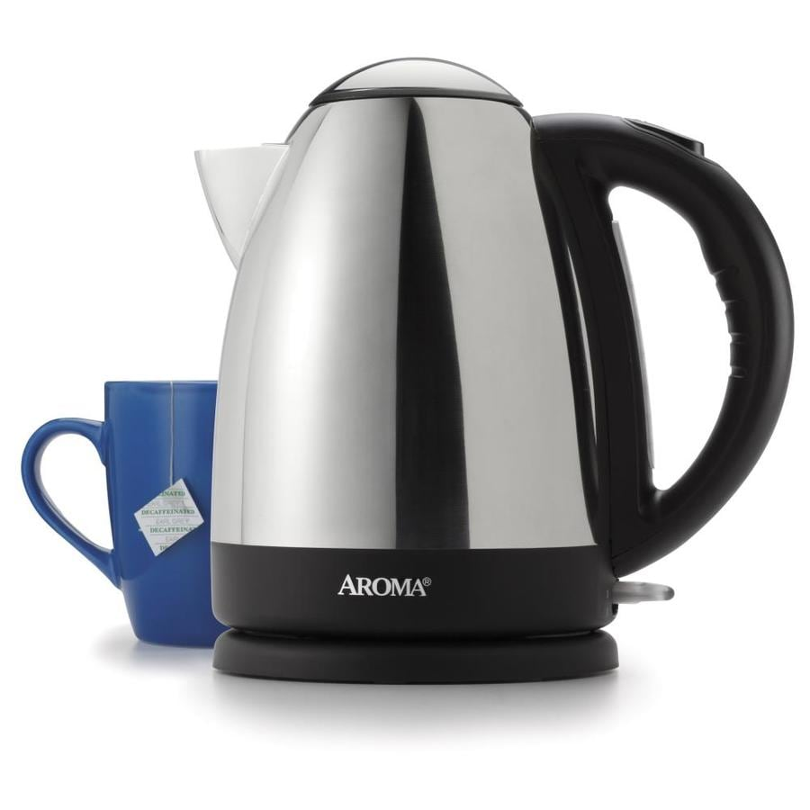Aroma Stainless Steel 7-Cup Electric Tea Kettle