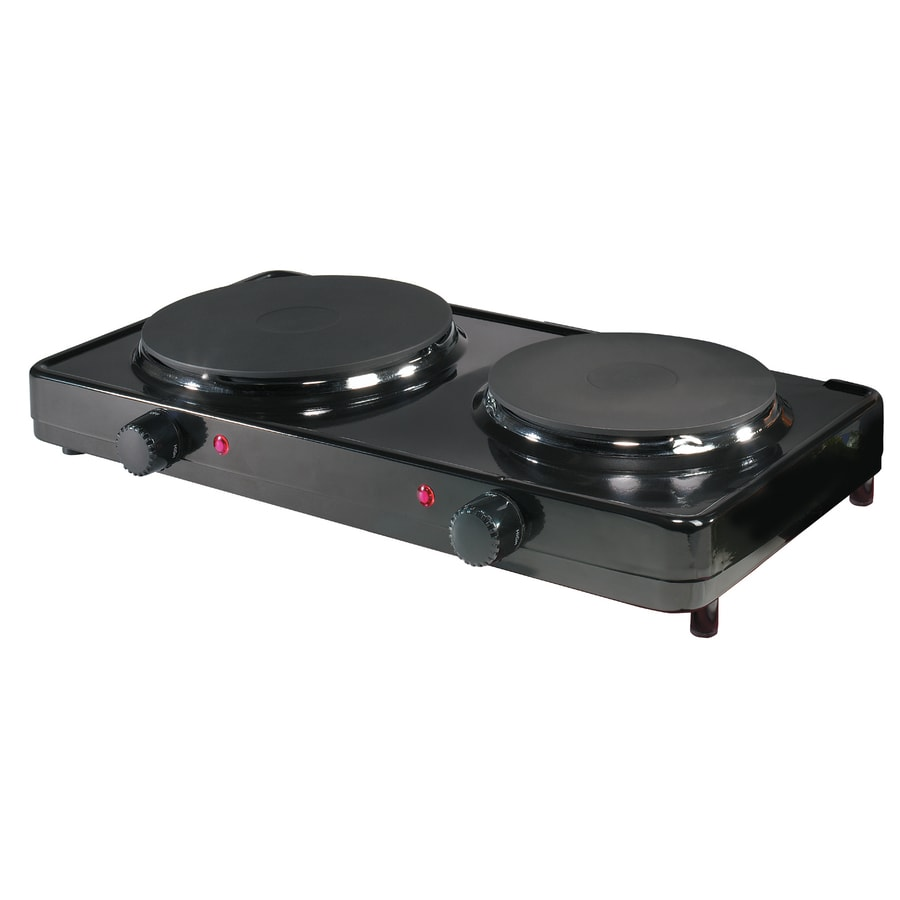 Aroma 10.4 In 2 Burner Metal Hot Plate