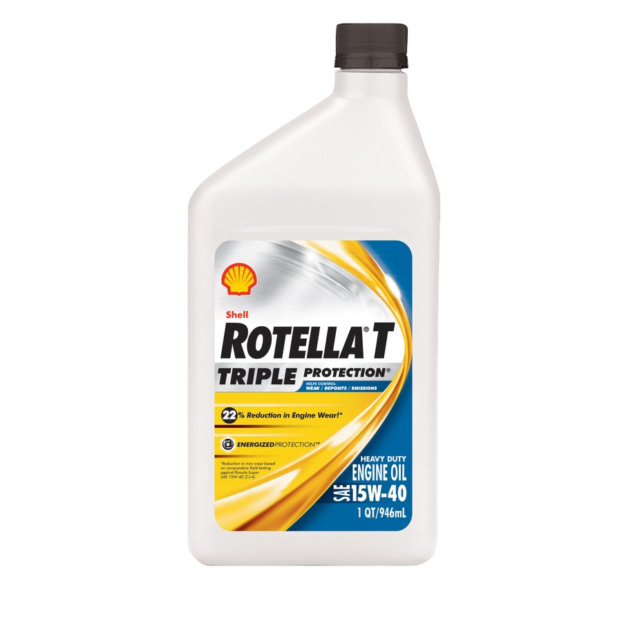 Rotella 32-oz 4-Cycle 15W-40 Conventional Engine Oil