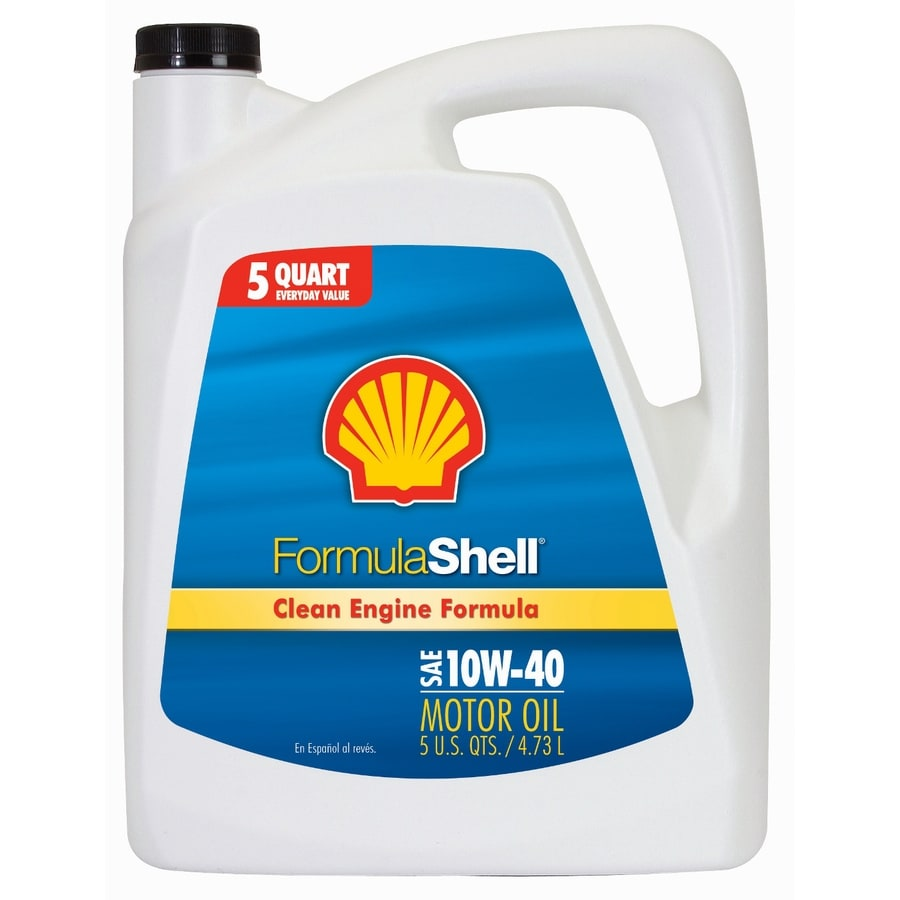 Shell Products 160-oz 4-Cycle 10W-40 Conventional Engine Oil