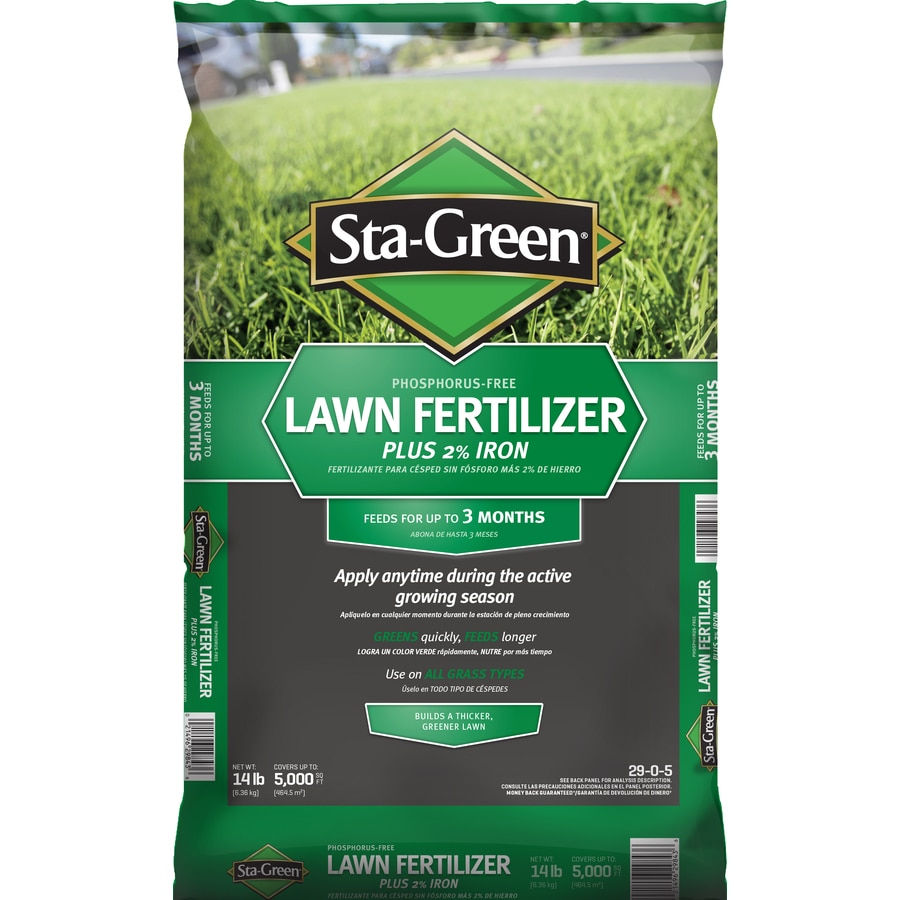 Shop Sta Green 5 000 Sq Ft Lawn Fertilizer 29 0 5 At