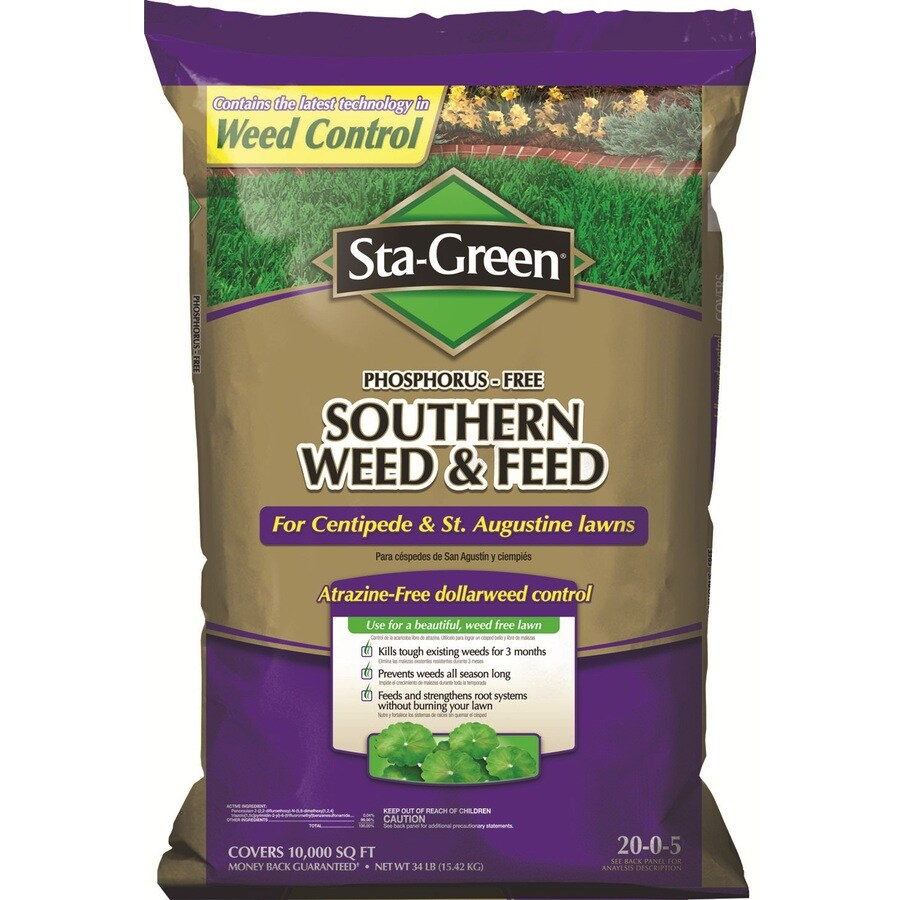 Sta Green Southern Weed Feed 10000 Sq Ft