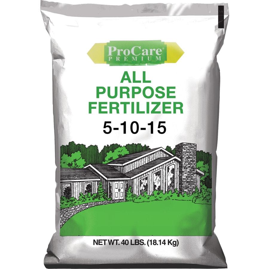 Pennington 5,000-sq ft Pro Care Lawn Fertilizer (5-10-15)