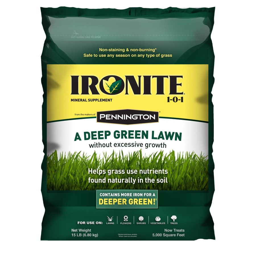 Shop ironite 15 lb ironite at for Soil and green