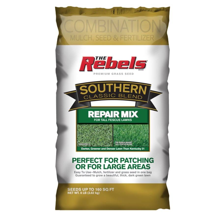 Rebel 8-lb Fescue Lawn Repair Mix