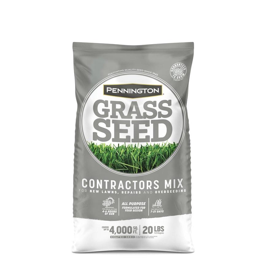 Pennington Contractor's Mix 20-lb  Sun & Shade Seed