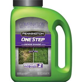 Pennington One Step Complete Dense Shade 5-lb Fescue Lawn Repair Mix