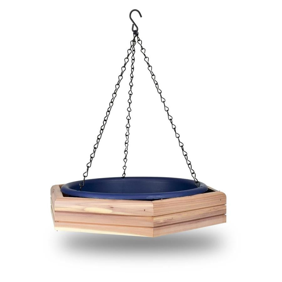 Pennington Blue Cedar Platform Bird Feeder