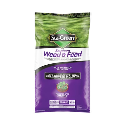 Weed And Feed 32 Lb 10000 Sq Ft 29 0 10 Lawn Fertilizer