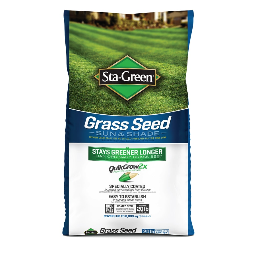 Sta-Green 20-lb Sun and Shade Grass Seed