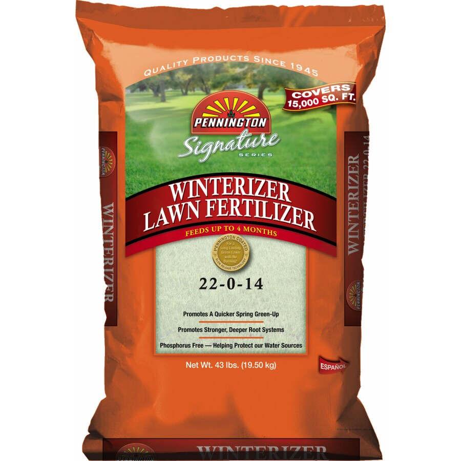 Pennington 15M Signature Series Winterizer Lawn Fertilizer